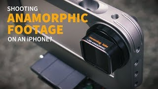 Download Shooting ANAMORPHIC FOOTAGE on an iPhone? Video