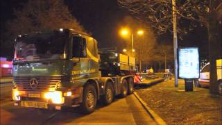 Download GPTV: Vrachtwagen door eigen hijskraan opgetakeld. Video