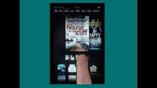 Download New Kindle Fire HD screen reader feature Video