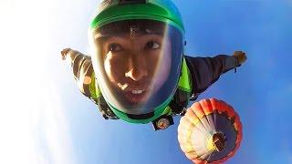 Download GoPro: Wingsuit Air Balloon Jump Video