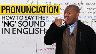 """Download How to pronounce the """"NG"""" sound in English Video"""