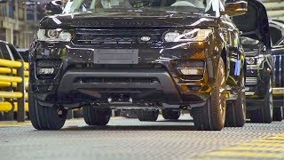 Download Range Rover (2018) PRODUCTION LINE – English Car Factory Video
