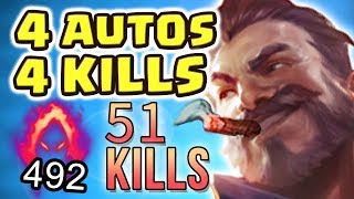 Download THE MOST BROKEN VIDEO I'VE EVER DONE | PENTAKILL RAGE | NEW 100% CRIT VICTORIOUS GRAVES - Nightblue3 Video