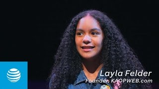 Download AT&T The Bridge's Generation Next with Layla Felder| AT&T Video