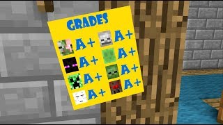 Download Monster School: Boring Class - Minecraft Animation Video