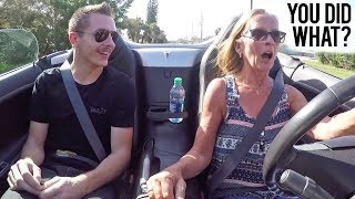 Download Turbo'd my Mom's Car - Her Reaction Was Priceless! Video