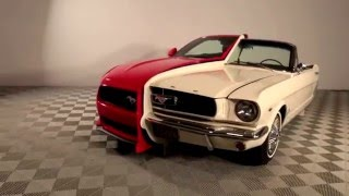 Download Ford Mustang Display at National Inventors Hall of Fame Museum Video