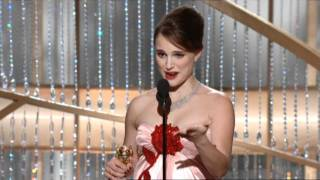 Download Natalie Portman Wins Best Actress Motion Picture Drama - Golden Globes 2011 Video