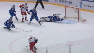 Download Absolutely incredible stick save by Koskinen Video