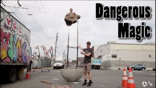 Download I can Yoga Balance on Top of That Human Weeble Wobble - Indian Fakir Levitation Video