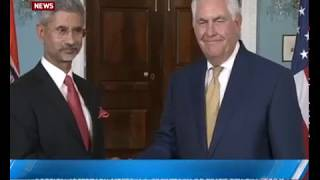 Download Foreign Secretary meets US secretary of state Rex Tillerson Video