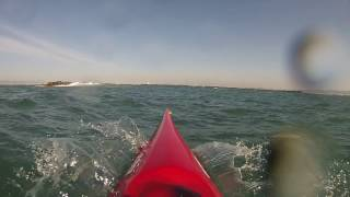 Download Scary Moment in a Sea Kayak. Video