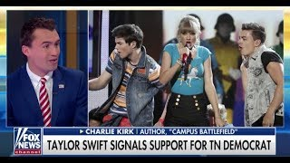 Download Charlie Kirk Thinks Celebs Like Taylor Swift Should Stay Out Of Politics Video