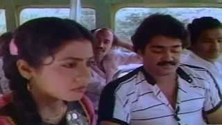 Download Onnanu Nammal Romance | Mohanlal And Poornima Romantic Scene In Bus Video