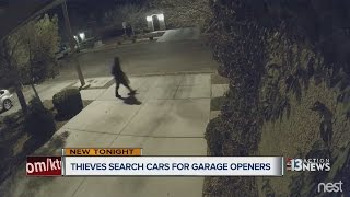 Download Thieves taking garage door openers across Las Vegas valley Video