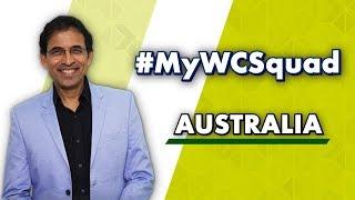 Download Harsha Bhogle's #MyWCSquad - Australia Video