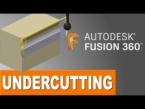 Undercutting in Fusion 360 CAM!  FF119