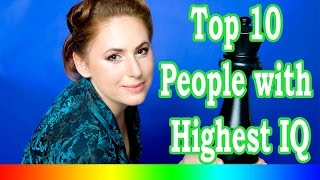 Download Top 10 People With Highest IQ In The World Video