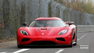 Download Koenigsegg Agera R - 402km/h EPIC Fly By on the Nurburgring! Video