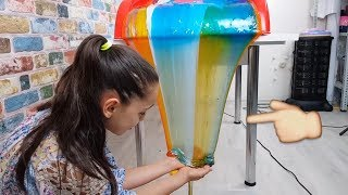 Download Slime Şelalesi Colorful Slime Waterfall to Excellent, Fun Kid Video Video