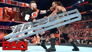 Download Cesaro & Sheamus spark a ladder melee: Raw, March 27, 2017 Video