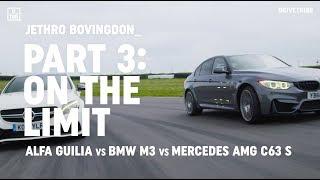 Download Alfa Giulia Quadrifoglio vs BMW M3 Comp Pack vs Mercedes-AMG C63 S: on the limit Video