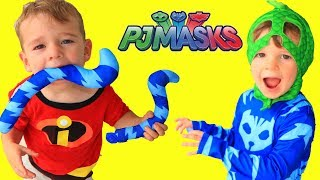 Download PJ Masks Catboy's Tail DISAPPEARS! Incredibles 2 Jack Jack Trouble Video
