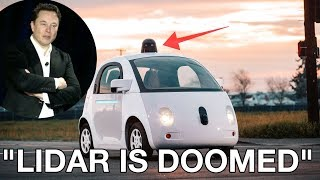 Download Why Tesla won't use LIDAR for full self driving cars Video