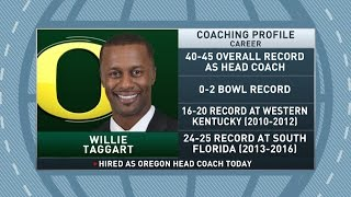 Download Gottlieb: Willie Taggart named Oregon's head coach Video