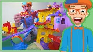 Download Educational Blippi Videos for Children | Learning Movement Verbs for Kids Video