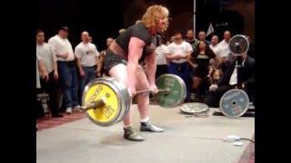 Download Becca Swanson 305kg/672lb DeadLift Video