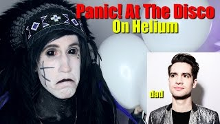 Download Singing Panic! At The Disco WITH HELIUM Video