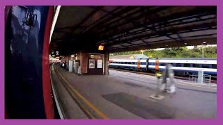 Download Train Bash GWR HST Exeter St Davids - Exeter Central - Axminster - Castle Cary Video