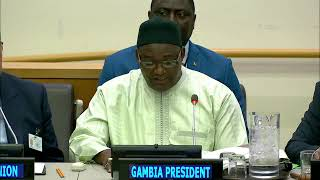 Download UN General Assembly High-level meeting on The Gambia - Peace-building Commission Video
