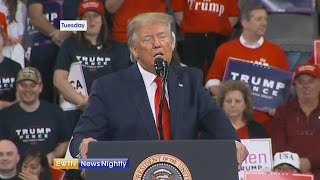Download President Trump slams impeachment during rally in PA - EWTN News Nightly Video