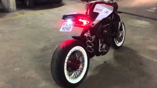 Download MV AGUSTA DRAGSTER 800 RR modified / QD Exhaust test without db killer. Video
