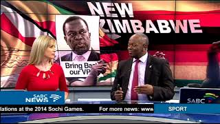 Download UPDATE Mnangagwa delivers his first address back in Zimbabwe Video