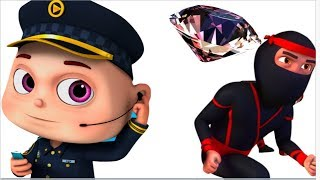 Download Zool Babies Police & Thief - Part 5 | All Episodes | Cartoon Animation | Videogyan Kids Shows Video