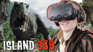 Download DINOSAUR SHOOTER GAME IN VIRTUAL REALITY! | Island 359 VR (HTC Vive Gameplay) Video