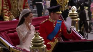 Download Celebration as the Royal Couple return to Buckingham Palace Video