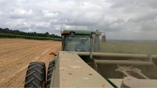 Download Firing up the John Deere 100 Baler after siting for 3 years Video