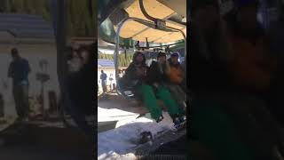 Download Opening day ski season at Arapahoe Basin - First chair takers Video