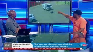 Download Cash-in-transit workers threaten to strike Video