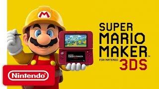 Download Super Mario Maker for Nintendo 3DS - Overview Trailer Video
