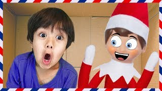 Download I MAILED MYSELF to RYAN TOYS REVIEW and it WORKED!!! Elf on the Shelf Video