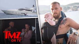 Download Conor McGregor Yachting and Daddy Duty | TMZ TV Video