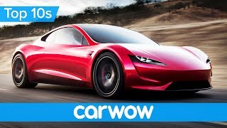 Download Incredible New Tesla Roadster - it's faster than a Bugatti Chiron! | Top 10s Video
