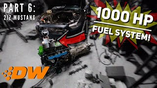Download Pt.6 | 2JZ 2015 Ford Mustang Build! | 1000HP FUEL SYSTEM! Video