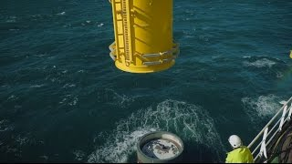 Download Veja Mate offshore wind farm installation Video