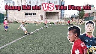 Download Thử Thách Bóng Đá sút Penalty Quang Hải Nhí VS Bùi Tiến Dũng Nhí U23 Việt Nam Tương Lai Video